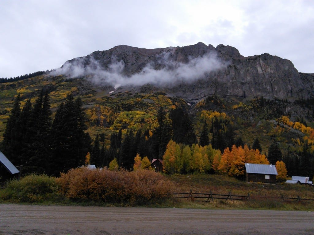 Gothic Mtn. Fall 2014 - photo by Jen Pierson