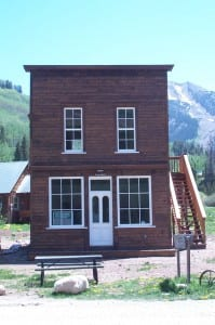 PIC-Town Hall Kids Nature Camp former Saloon in Gothic