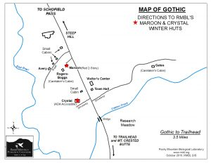2019 Winter Hut Map