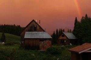 RMBL sunset
